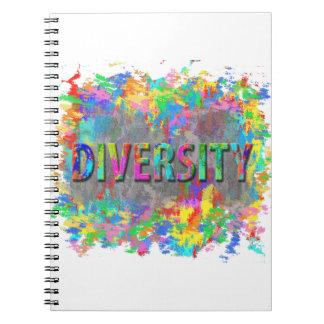Caderno Espiral Diversidade
