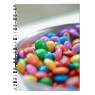 Caderno Espiral doces coloridos
