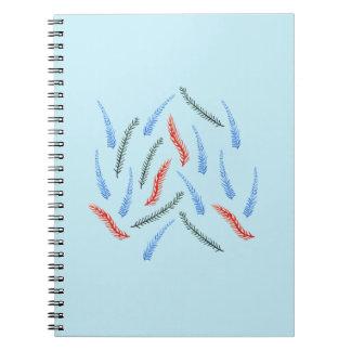 Caderno espiral dos ramos