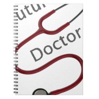 Caderno Espiral Doutor futuro Dr.