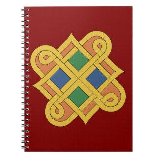 Caderno Espiral Durrow Knotwork 2016
