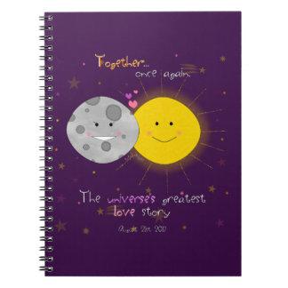 Caderno Espiral Eclipse 2017