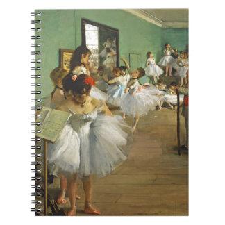 Caderno Espiral Edgar Degas a classe de dança