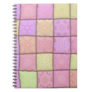 Caderno Espiral edredão pastel 1 (I)