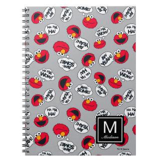 Caderno Espiral Elmo | Aw yeah, teste padrão impressionante