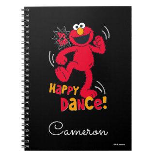 Caderno Espiral Elmo | faz a dança feliz