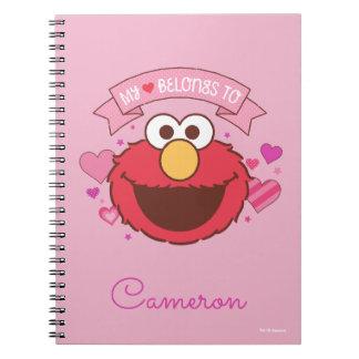 Caderno Espiral Elmo | meu coração pertence a Elmo