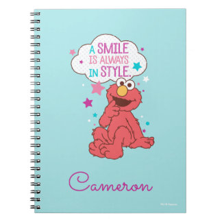 Caderno Espiral Elmo | um sorriso está sempre no estilo
