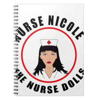 Caderno Espiral Enfermeira de Nicole