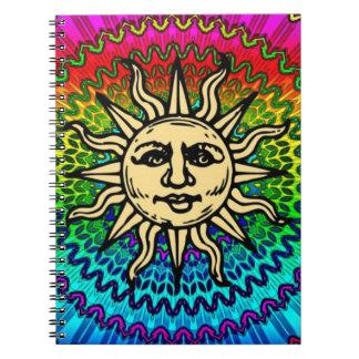 Caderno Espiral Ensolarado