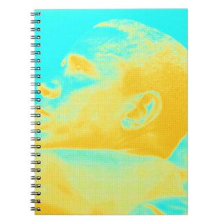 Caderno Espiral Esboço do presidente Barack Obama 4