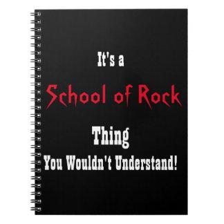 Caderno Espiral Escola do jornal da rocha