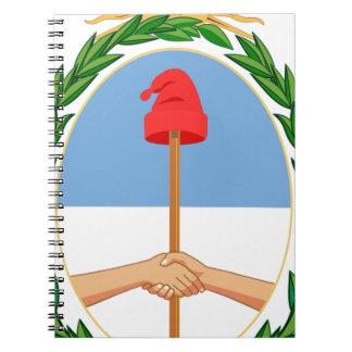 Caderno Espiral Escudo de Argentina - brasão de Argentina