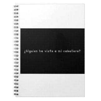 Caderno Espiral Espanhol-Cavaleiro