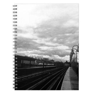 Caderno Espiral Estação de caminhos-de-ferro
