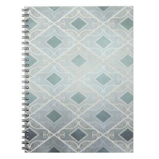 Caderno Espiral Estada elegante, diamante