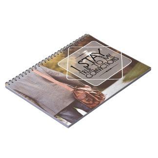 Caderno Espiral Estada verdadeira a minhas convicções
