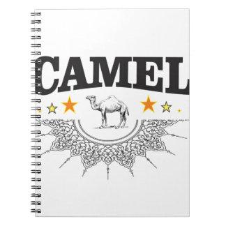 Caderno Espiral estrelas do camelo