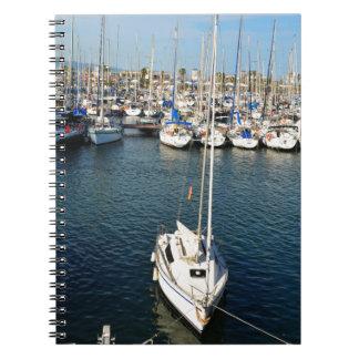 Caderno Espiral Eu amo navegar