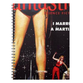 Caderno Espiral Eu casei um marciano