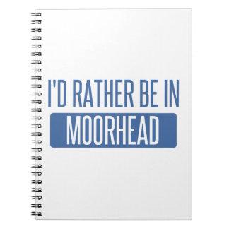 Caderno Espiral Eu preferencialmente estaria em Moorhead