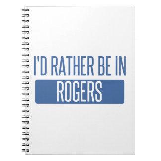 Caderno Espiral Eu preferencialmente estaria em Rogers