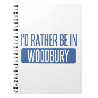 Caderno Espiral Eu preferencialmente estaria em Woodbury