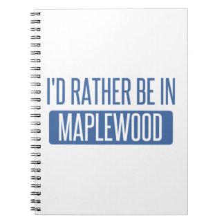 Caderno Espiral Eu preferencialmente estaria no Maplewood