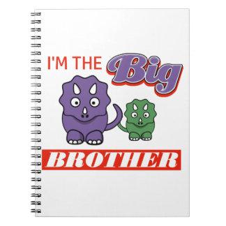Caderno Espiral Eu sou o design do big brother