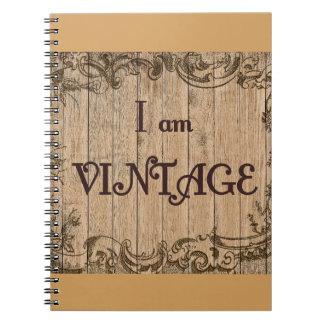 Caderno Espiral Eu sou vintage