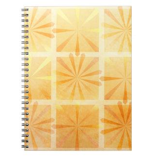 Caderno Espiral Explosão do citrino