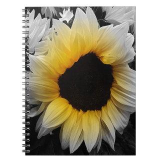 Caderno Espiral Explosão do girassol