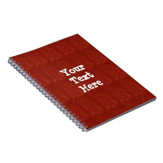 Caderno Espiral Fáceis vazios do modelo adicionam o DIVERTIMENTO
