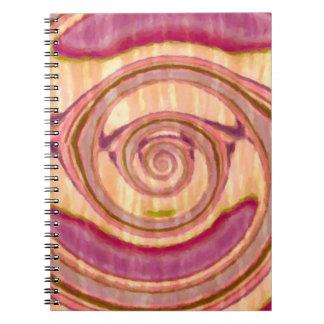 Caderno Espiral Fantasia abstrata