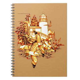 Caderno Espiral Farol