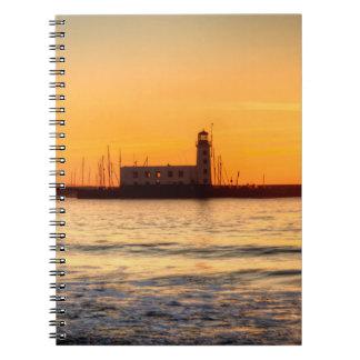 Caderno Espiral Farol de Scarborough