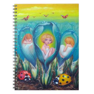 Caderno Espiral Fazenda do duende