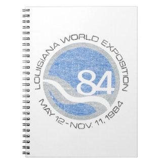 Caderno Espiral Feira de 84 mundos