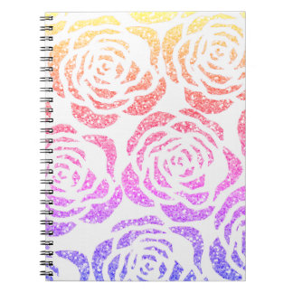 Caderno espiral feito sob encomenda do teste