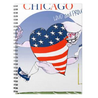 Caderno Espiral Fernandes tony altos e orgulhosos de Chicago,