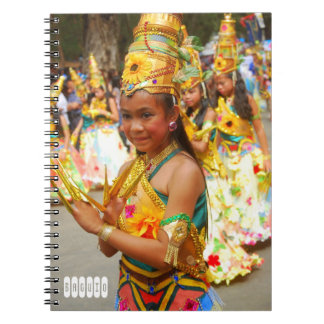 Caderno Espiral Festival de Baguio
