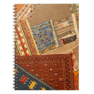 Caderno Espiral Fim da colagem do tapete acima