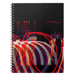 Caderno Espiral Fitas da luz