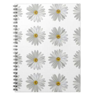 Caderno Espiral flores