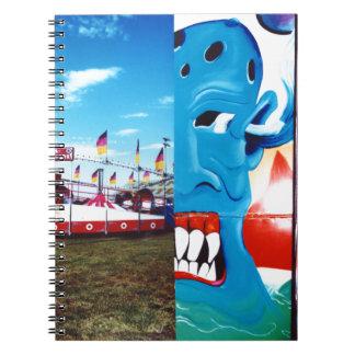 Caderno Espiral Foto justa de TwoFace