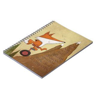 Caderno Espiral Fox Unicyclist-Mais do que um conquistador