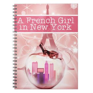 Caderno Espiral French Girl Notebook