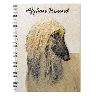 Caderno Espiral Galgo afegão