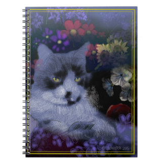 Caderno Espiral Gato de Toby