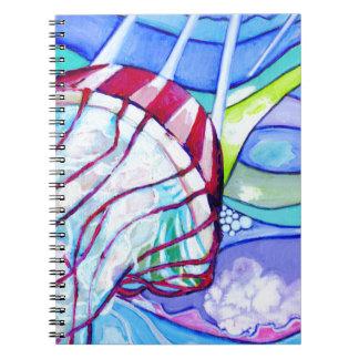 Caderno Espiral Geléia de Surfin